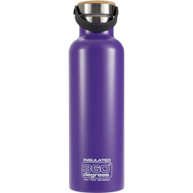 360° degrees Vacuum Insulated Drikkeflaske 750ml, purple
